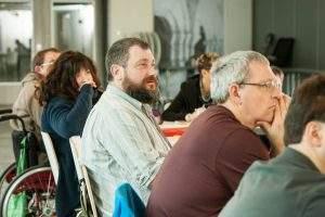 Foto von einer Vorstandssitzung der LAG WR RLP